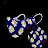 Mascarilla margarita azul