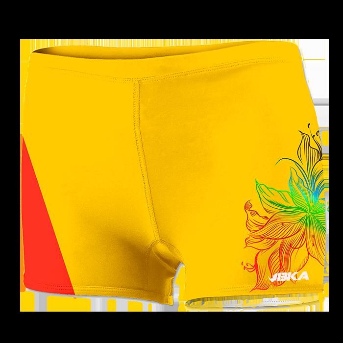 pantalon blossom amarillo