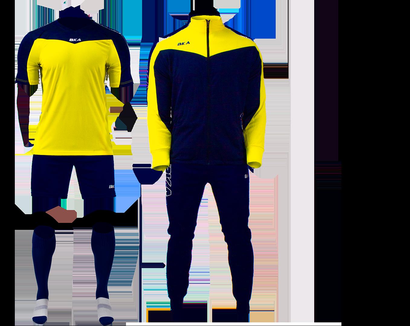 pack juego amarillo azul