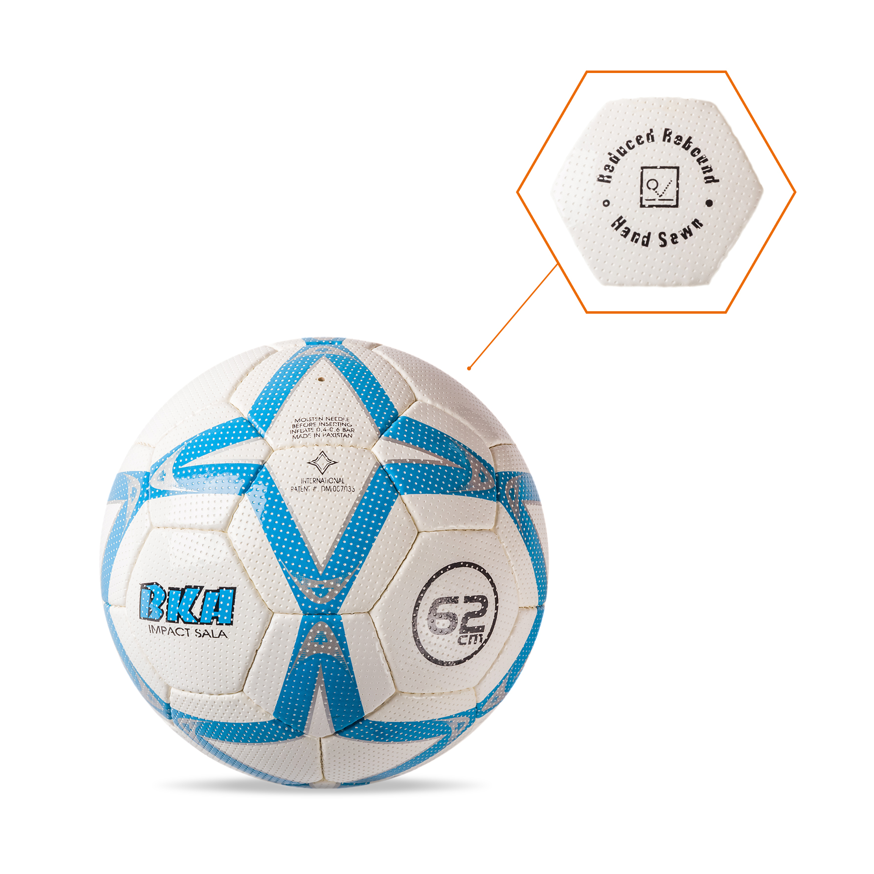 Balón Blanco-Azul