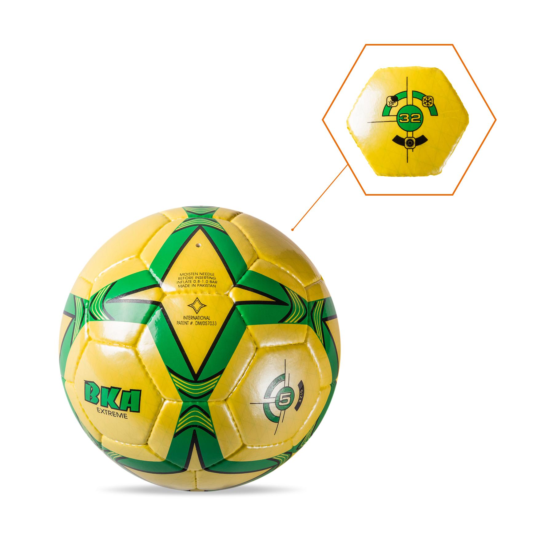 Balón Verde-Amarillo-Negro