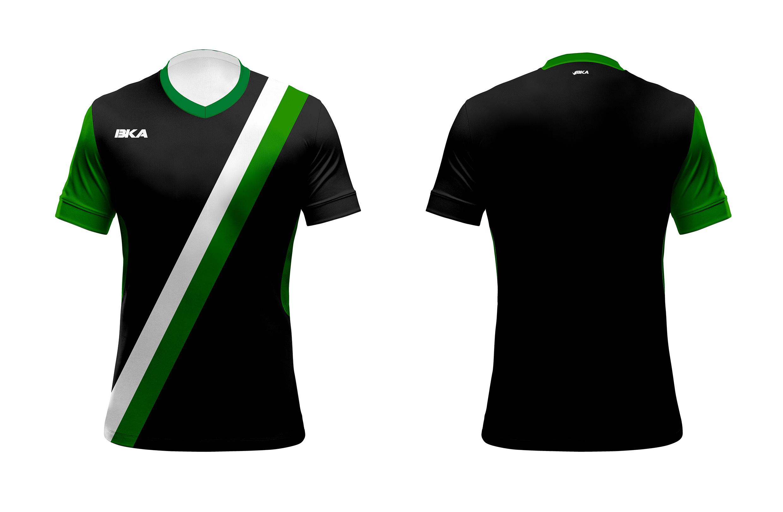 Buenos aires negro-verde oscuro-blanco