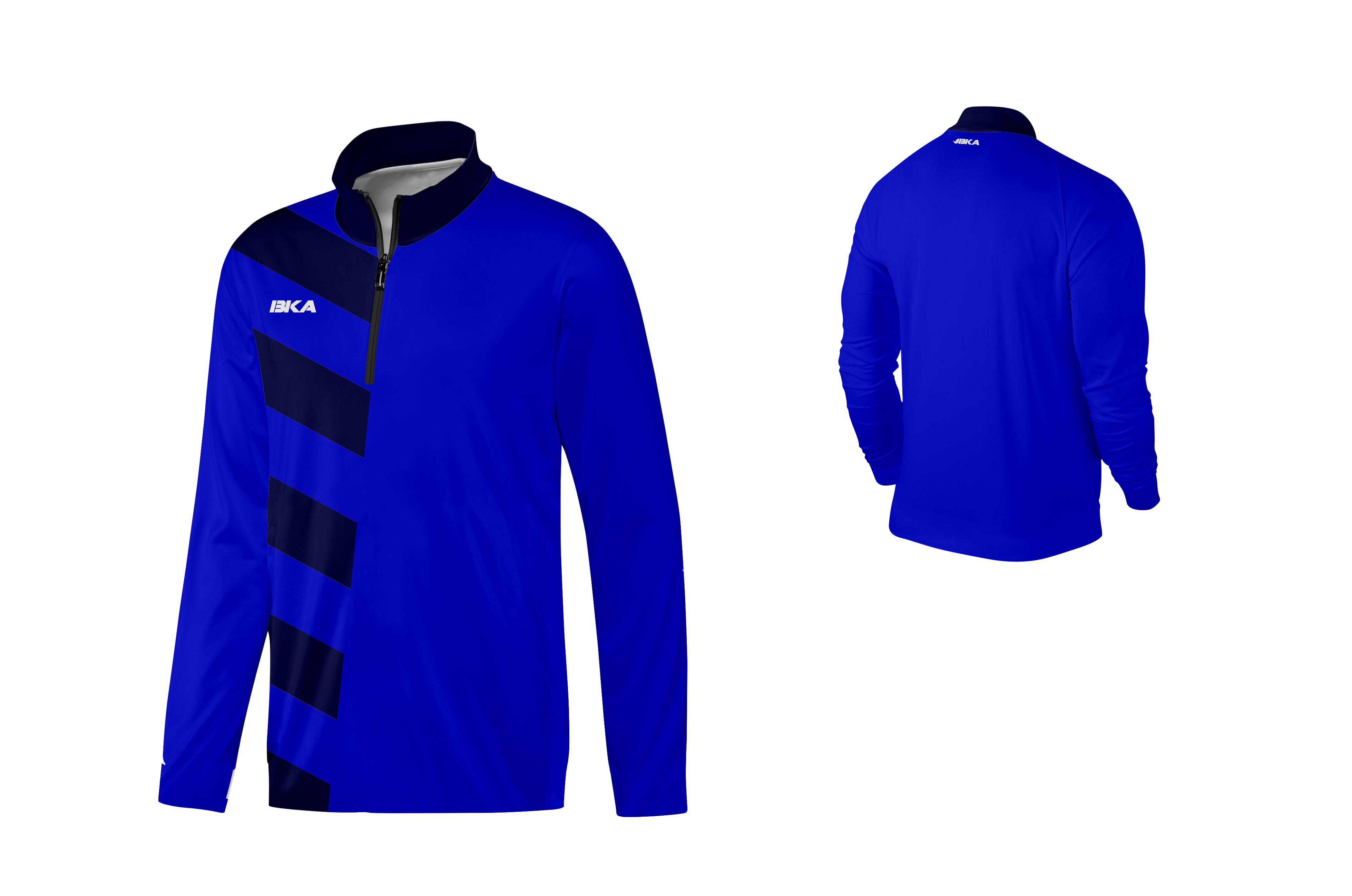 SUDADERA BKA DORTMUND azul royal-azul marino