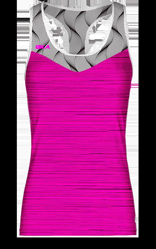 trenza rosa