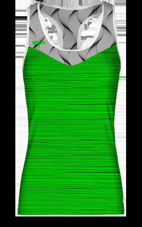 trenza verde