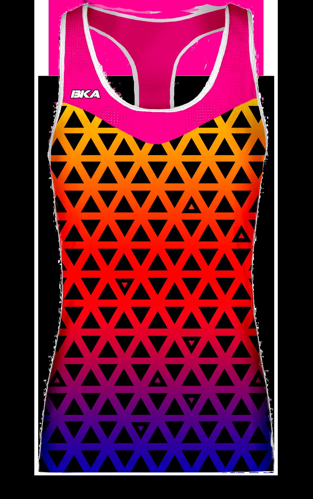 triangulos rosa