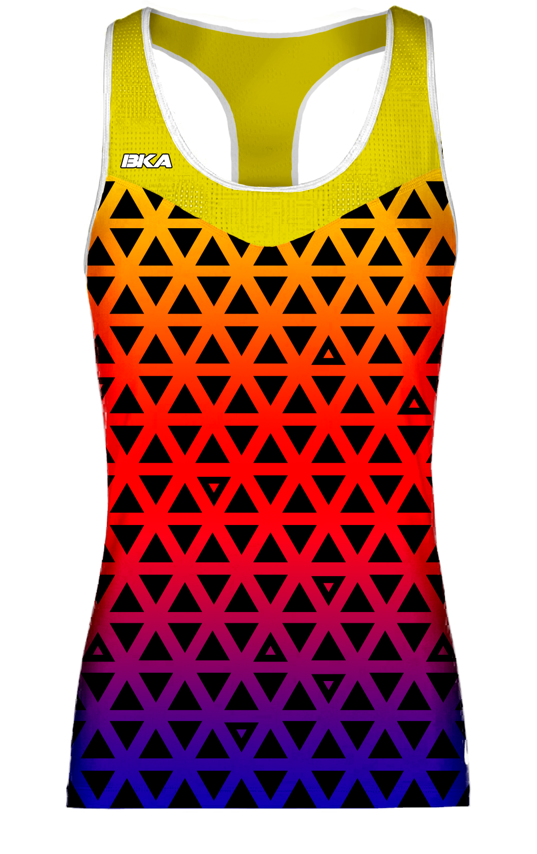 triangulos amarillo