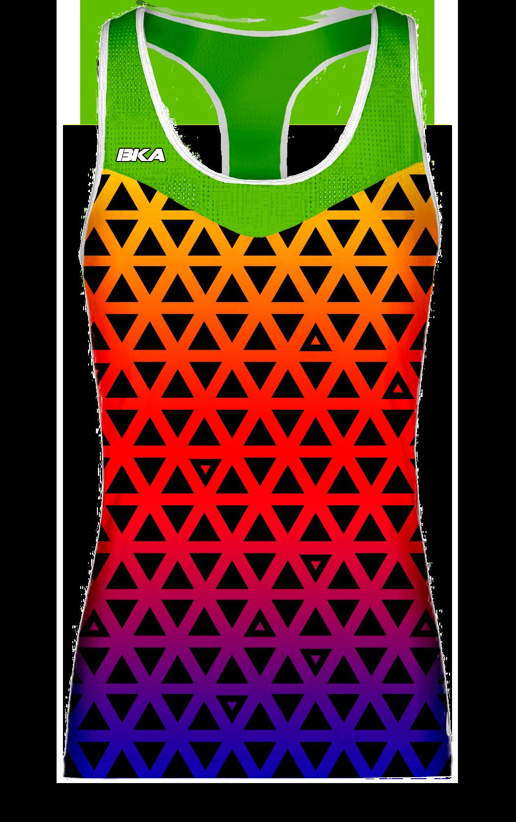 triangulos verde